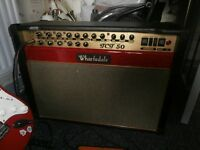 wharfedale tct 50combo valve amp