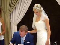 Gorgeous Ellis bridal mermaid/fishtail wedding dress 6-8