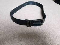 Next small men's black belt
