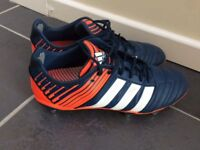 Rugby Boots-Adidas regulate Kakari SG Rich Blue White Infrared £20