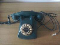 RetroTelephone, dark green