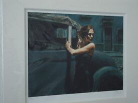 Artist Signed Limited Edition Prints by Fabien Perez.