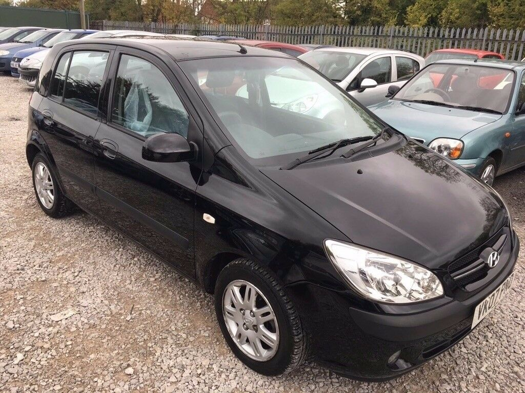 Hyundai Getz 1.1 CDX Hatchback 5dr Petrol Manual. GENUINE LOW MILEAGE. HPI  CLEAR.
