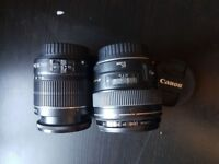 selling my Canon 600D DSLR 18MP along with 2 lenses