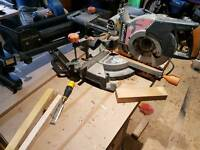 Evolution sliding saw and stand 255mm