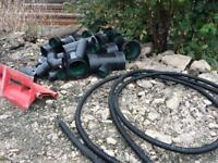 Underground drainage pipe & fitings