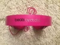 Pink Beats by dr dre Headphone