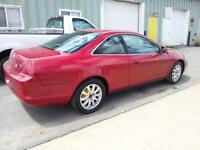 2000 Honda Accord 2 dr Coupe, 5 Speed, New Clutch & New MVI