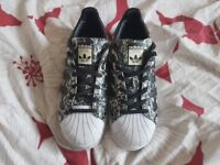 Womens Floral Trainers size 5