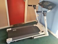 A fully functioning motorised treadmill, including manual and safety key.