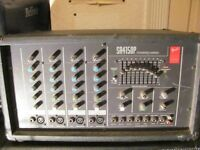 Fender SA4150P Four Channel 150W Powered Mixer