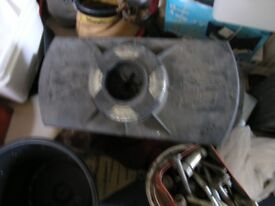 Peugeot Wheel Jack Contained in Box Which Holds Wheel Up