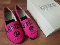 Brand new Kenzo slip on shoes