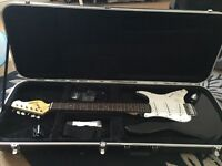 Electric Guitar with Amp and Gator Case