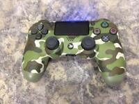 PS4 PRO Green Camo Controller / Pad