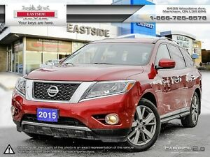 2015 Nissan Pathfinder NAVI-Leather-B.Tooth