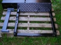 recovery equipment heavy wrecker wheel grids used