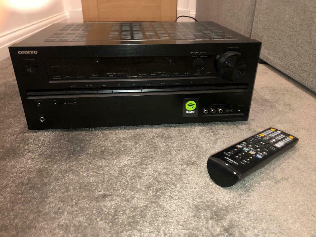 Onkyo surround sound with mordaunt - short speakers | in Forfar, Angus |  Gumtree