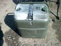 Hot or cold large coolbox suitable for fishing, or camping.