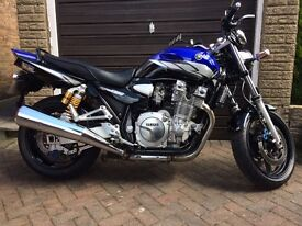 YAMAHA XJR1300, 12 MONTHS MOT, LOW MILES, VERY CLEAN