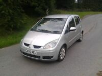 MAY TAKE PART EX2007 56 Mitsubishi Colt CZ2 low miles 70k mot March immaculate FSH 1.3 low ins/ tax