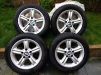 Winter Tyres full set on BMW Alloys 16R