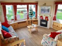 JANUARY STATIC CARAVAN SALE - 3 BED DOUBLE GLAZED CARAVAN FOR SALE - FINANCE AVAIL - SITED.
