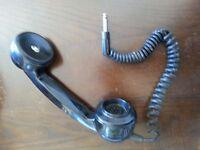 Retro phone to cue music on disco decks