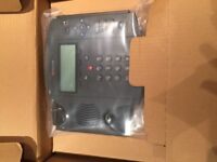 (20 available)Polycom soundpoint IP SIP phone telephone and PSU