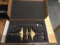 Wall mounted mixer tap