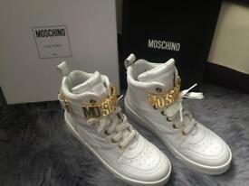 Lady's Moschino High Top Shoes