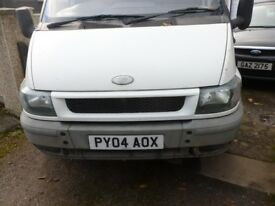 ford transit engine 2004 year 1998cc