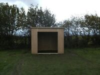 FIELD SHELTER £550.00 OR 2 FOR £980.00