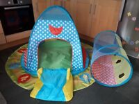 Chad Valley Play Tent and Tunnel