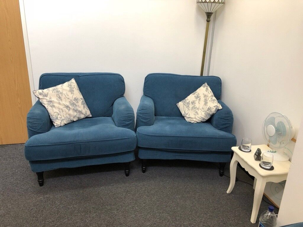 ikea stocksund 3 seater sofa and 2 armchairs for sale in wimbledon london gumtree. Black Bedroom Furniture Sets. Home Design Ideas