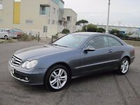 2005 MERCEDES CLK COUPE ADVANTARDE DIESEL AUTOMATIC