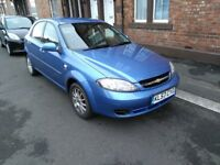 Chevrolet Lacetti Automatic, MOT Until 2019