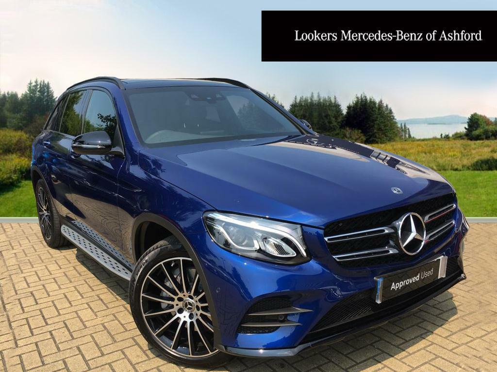 mercedes benz glc class glc 220 d 4matic amg line premium blue 2017 06 20 in ashford kent. Black Bedroom Furniture Sets. Home Design Ideas