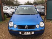 VOLKSWAGEN POLO 1.4 TWIST HATCH 5DR 2005*IDEAL FIRST CAR*CHEAP INSURANCE*LOW MILEAGE*HPI CLEAR