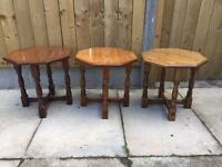 Royal Oak lamp tables (delivery available)55