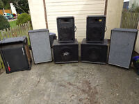 Collection Of PA & Disco Speakers