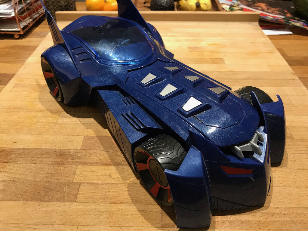 Batman Car With Moving Parts And Firing Thing