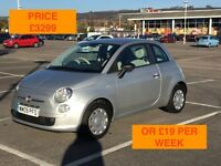 2009 FIAT 500 POP / NEW MOT / PX WELCOME / HAD CAMBELT REPLACED / CARDS TAKEN / WE DELIVER