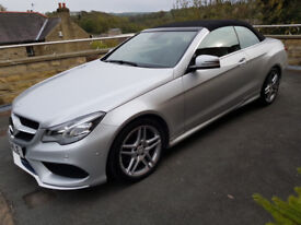 Mercedes Benz E220 CDI AMG 7G Tronic Plus SPORT Cabriolet Auto NEW SHAPE 1 OWNER Full dealer history