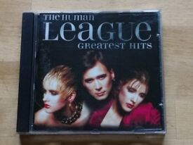 Human League greatest hits CDs. 50p