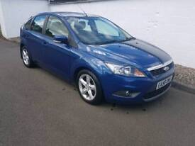 Ford Focus Zetec Td 115 2008 years mot and warranty full service