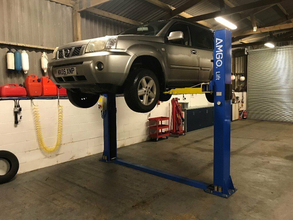 Car Lift Ramp Hire Available In Spacious Workshop Including