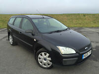 LOW MILEAGE FORD FOCUS ESTATE TDCI IN BLACK FULL SERVICE HISTORY JUST HAD MAJOR SERVICE GREAT CAR!