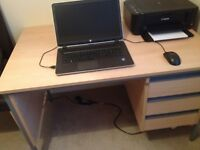 Desk top Quality with draws that lock.