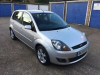 Ford Fiesta 1.4 Automatic / Low Mileage / 5 Door / Full Service History /Long MOT / Silver / Bargain